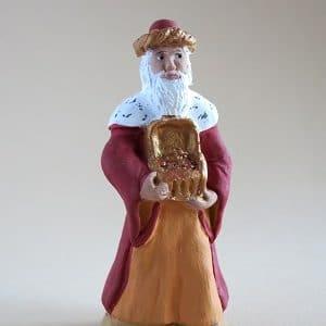 roi blanc santons arlatenco