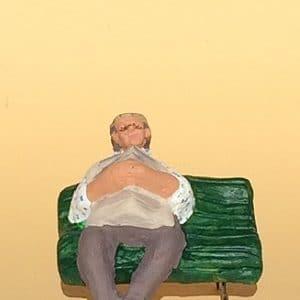 jean charles sur son banc