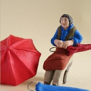réparateur de parapluies santons arlatenco
