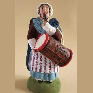 tabourinaire marseillaise tambourin fleuri santons arlatenco